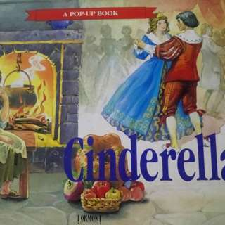Cinderella - pop-up book