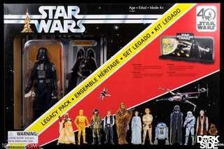 Star Wars darth Vader legacy pack 40th anniversary