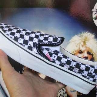 Vans slip-on snoopy peanuts checker board