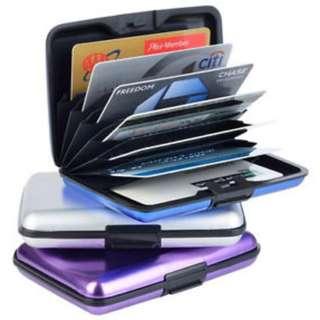 Card Caddy ( aluminium card holder wallet waterproof