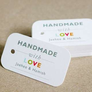 Personalised Tag for Gifts Giving