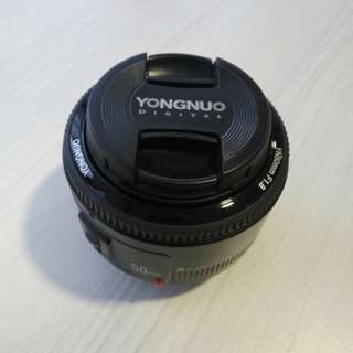 YongNuo 50mm f1.8 (Canon Mount)