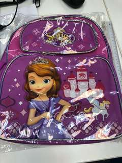 Authentic Sofia the first bag