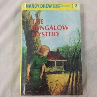 Nancy Drew The Bungalow Mystery (hard bound)