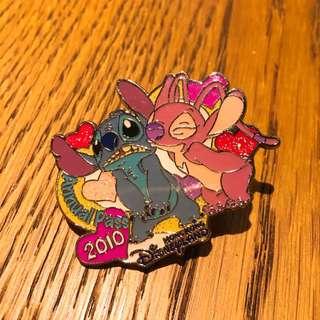 Disney Pin 迪士尼襟章 徽章 史迪仔 Stitch