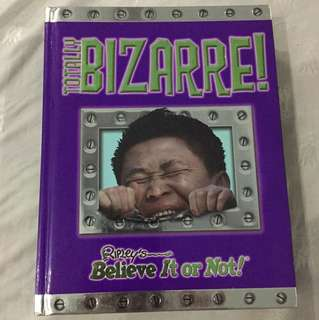 Ripleys Believe It or Not! Totally Bizarre (hardbound)