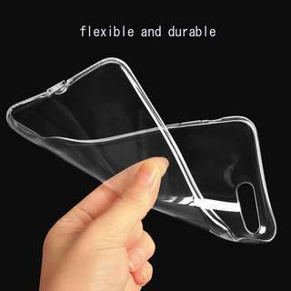 Silicon clear case for iphone 7 & 7plus