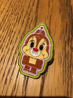 Disney Pin 迪士尼襟章 徽章 Chip N Dale 大鼻鋼牙