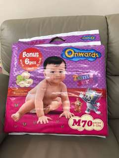 Diapers Onwards M size brandnew
