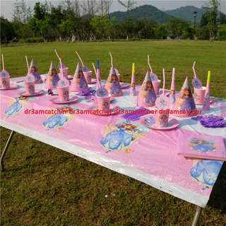 Sofia the First party set for 10 pax