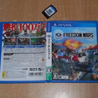 二手 Playstation PSV PS V Vita 遊戲 Freedom Wars 自由戰爭 2014 日版 動作