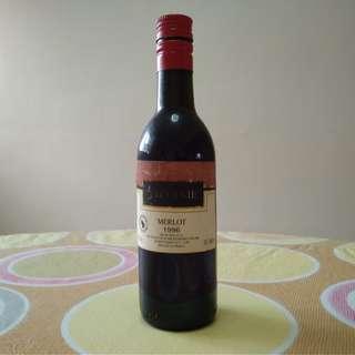 Merlot 1996 Small Wine Bottle