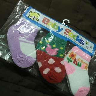 Baby socks 3pcs