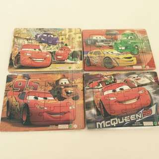 McQueen Puzzles - Birthday Party Gifts