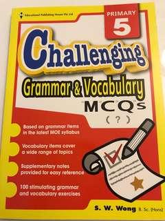 Primary 5 challenging grammar & vocabulary