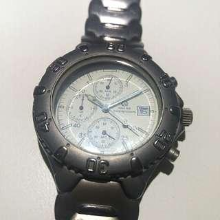 鈦金屬運動型腕錶 TITANIUM Chronograph Sports Watch