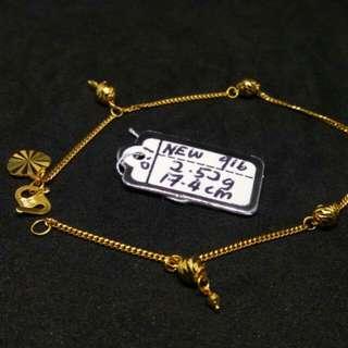 (Authentic New 916) Rantai Tangan Dewasa