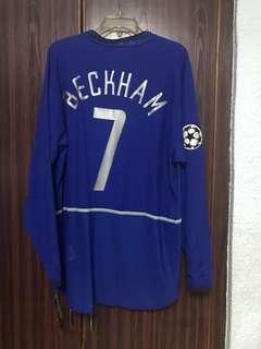 BNWT Player issued Man Utd Beckham 7