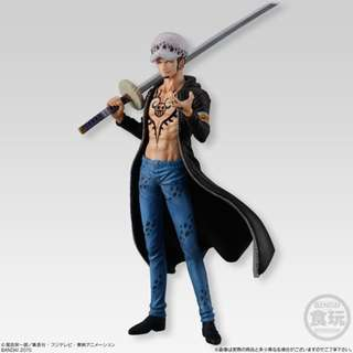 Trafalgar Law Shokugan Super One Piece Styling Trigger of the Day Bandai