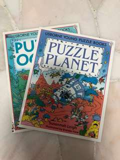 Puzzle books for young kids
