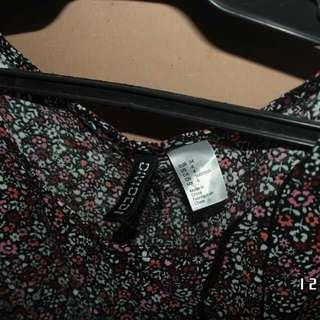 H&M Short dress summer