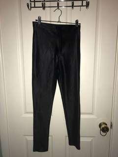 Black disco pants