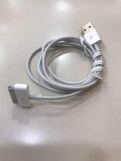 🚚 (二手)Iphone&ipad用原廠充電線,30pin