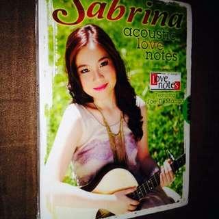 Sabrina (ft. Joe D' Mango)-Acoustic Love Notes (Music Inspired by Love Notes) CD
