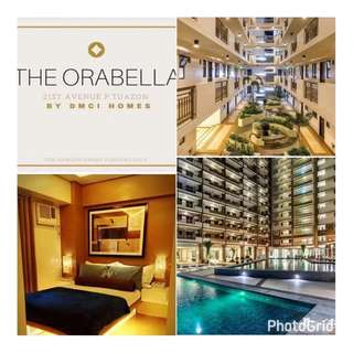 Condo near Araneta Center in Quezon City THE ORABELLA , No Spot DP!