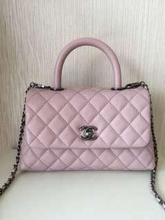 Chanel coco mini pink