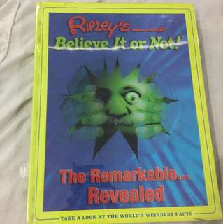 Ripleys Believe It or Not! The Remarkable Revealed (hardbound)