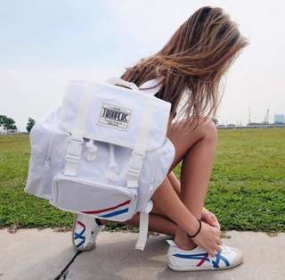 Troopers Official Voyage White Bagpack