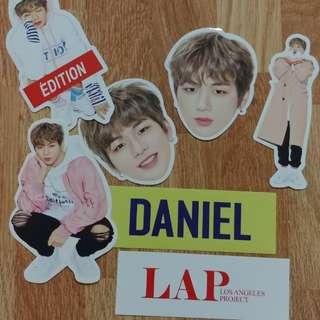 [Lap×Daniel] Wanna one Daniel×Lap貼紙