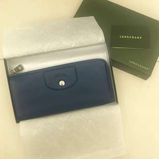 LONGCHAMP Leather Long Wallet 真皮長銀包