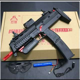 Airsoft MP7 Gel Blaster Electric Auto Upgradeable 370 Motor 7-8mm (Coming soon) or (Pre-Order)
