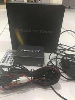 Analog TV tuner