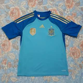 Adidas Spain Away Football Shirt Climacool