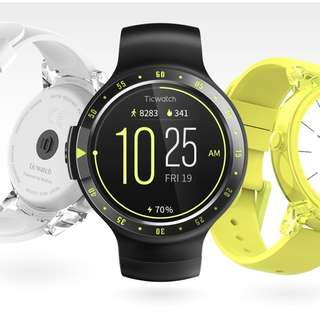 Brand New Ticwatch S Smartwatch Android Wear