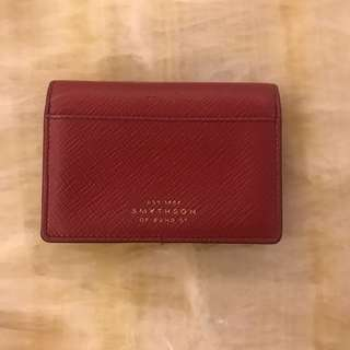 Smythson card holder 卡片套