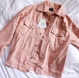 Pink Denim Shirt NEW