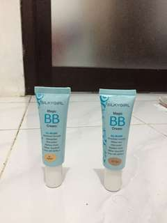 silky girl magic bb cream