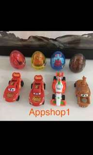 Goody bag - cars surprise egg (kids goodies bag gift)