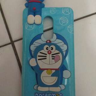 Casing xiaomi note 4.. Model doraemon intip.