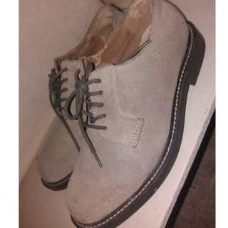 Bass leather shoes