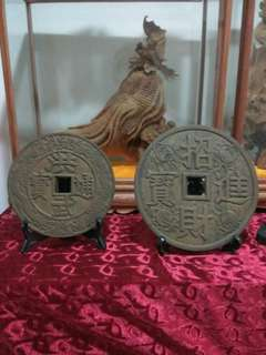 Big copper coin both for cheap sales