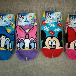🚚 韓國襪子 正版小朋友 迪士尼短襪