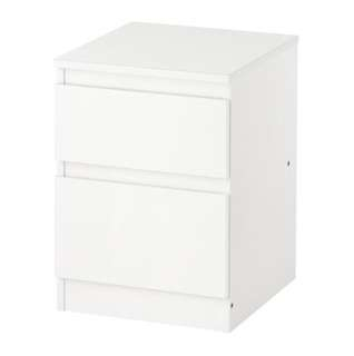 White Chest drawers 35 x 49cm