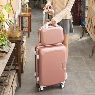 (淘寶優惠卷分享) 拉杆箱男女拉扞竿干杠秆扦扛旅行李箱包垃杆旋登