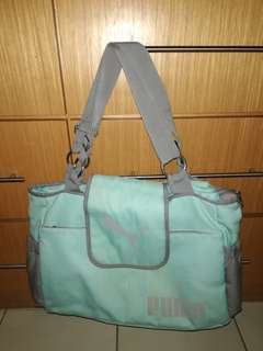 Puma Diaper & Nursing Bag