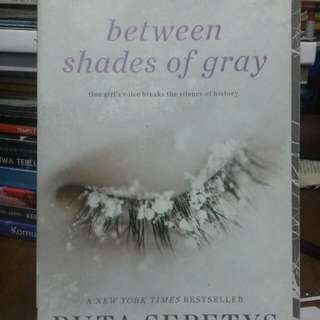 Novel Between Shade of Gray